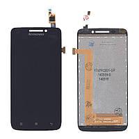 Матрица с тачскрином (модуль) для Lenovo IdeaPhone S650 черный