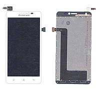Матрица с тачскрином (модуль) для Lenovo IdeaPhone S850 белый