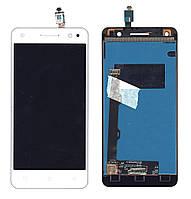 Матрица с тачскрином (модуль) для Lenovo Vibe S1 Lite белый