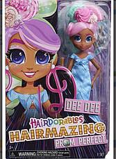 Большая кукла Хэрдораблс Ди-Ди Hairdorables Hairmazing Dee Dee Выпускной вечер, фото 3