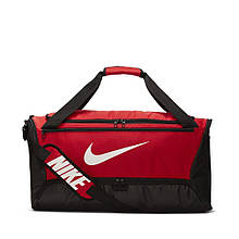 Сумка тренувальна спортивна Nike Brasilia Medium 60L BA5955-657 Червоний
