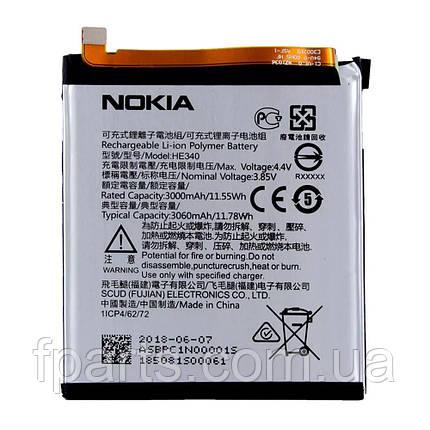 Аккумулятор HE340, HE347 для Nokia 7, фото 2
