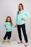 Набор Family look: пижамы для отдыха
