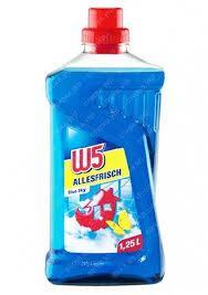 Средство для мытья полов с морским ароматом  W5 Allesfrisch 1250 мл