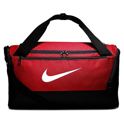 Сумка тренировочная спортивная Nike Brasilia Small 41L BA5957-657 Красный, фото 2