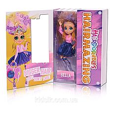 Большая кукла Хэрдораблс Белла Hairdorables Hairmazing Bella Модный показ, фото 3