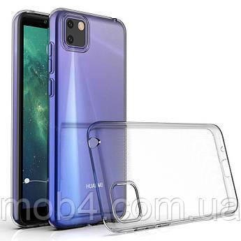Силиконовый ультратонкий прозрачный чехол для Huawei (Хуавей) Y5P