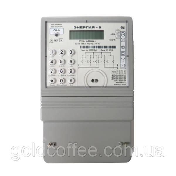 Лічильник трифазний електронний багатотарифний CTK3-10Q2H6Mt