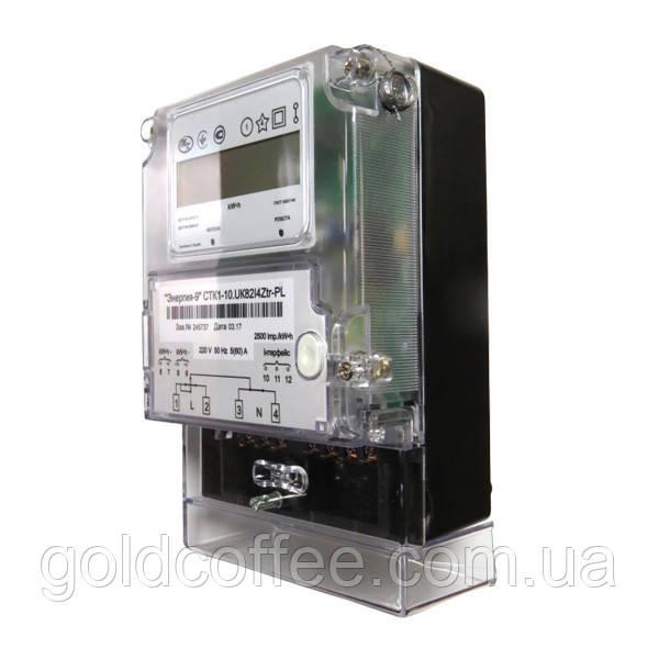 Счетчик однофазный электронный многотарифный CTK1-10.UK82I4Ztr-PL