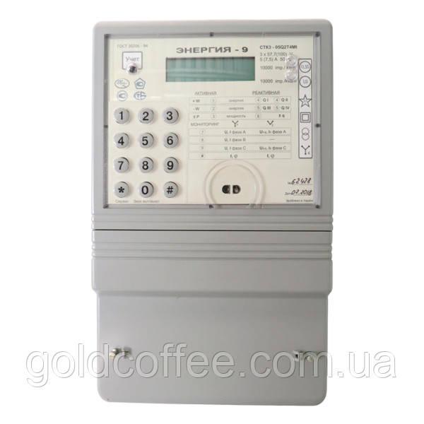 Лічильник трифазний електронний багатотарифний СТК3-05Q2T4Mt