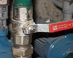 Как установить шаровый кран на металлическую трубу?