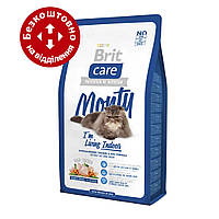 Brit Care Cat Monty I am Living Indoor 7кг корм с курицей для кошек