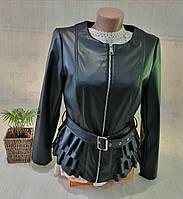 Куртка кожзам женская, L,2XL рр, № 153155