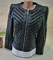 Куртка кожзам женская, XL,2XL, № 153155