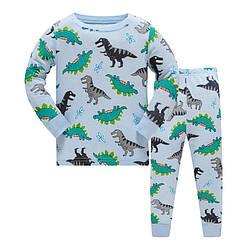 Пижама для мальчика Большие динозавры Baobaby (95) 4 года, 100, 100