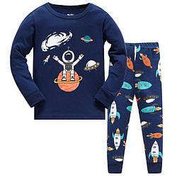 Пижама для мальчика Маленький космонавт Baobaby (95)