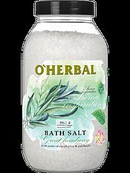 Соль для ванн  Aroma Inspiration Great headway с маслами кедра и эвкалипта O'Herbal 1100 г
