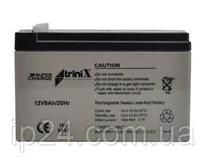 Аккумулятор  Trinix 9 Ач 12В (АКБ Super Charge 9Ач, 12В)