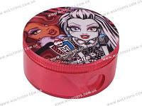 Точилка с контейнером кругл. Monster High