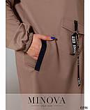 Спортивний костюм жіночий Турецька двунітка Розмір 50-52 54-56 58-60 62-64 В наявності 4 кольори, фото 5