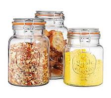 Банки, емкости стеклянные, керамические для хранения продуктов