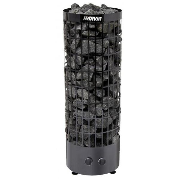 Электрокаменка Harvia Cilindro PC90 black steel
