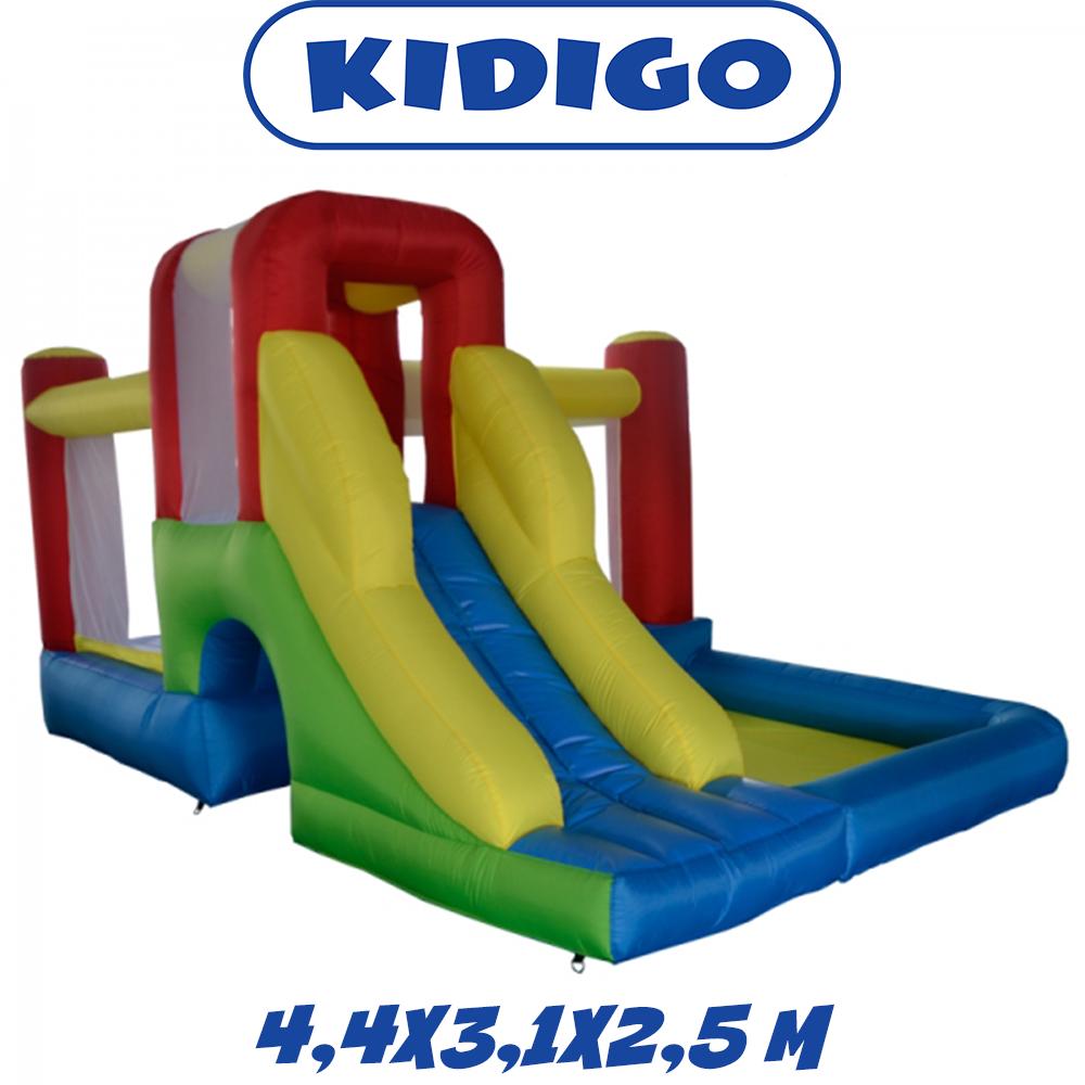 Надувной батут с горкой игровой центр для детей KIDIGO Daydream