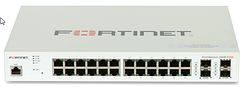 FortiSwitch 224E POE Комутатори захищеного доступу Fortinet