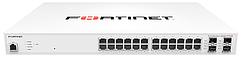 FortiSwitch 224D FPOE Комутатори захищеного доступу Fortinet