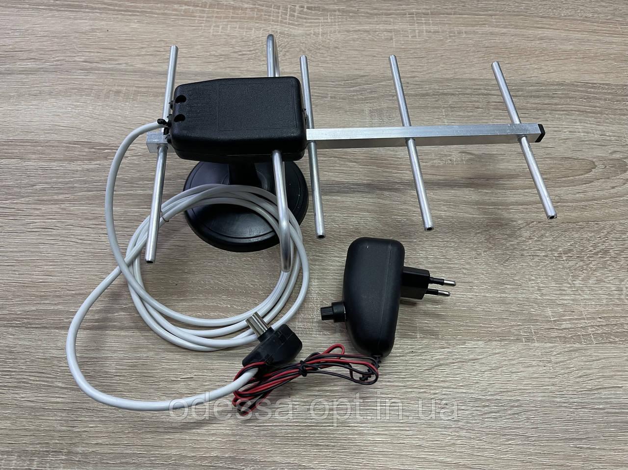 Антена кімнатна ДМВ (хвиля) з підсилювачем