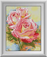 Алмазная мозаика Анемоны Dream Art 30580 38x49см 31 цветов, квадр.стразы, полная зашивка. Набор алмазной