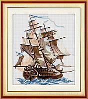 Алмазная мозаика Бригантина Dream Art 30581 39х43см 13 цветов, квадр.стразы, полная зашивка. Набор алмазной