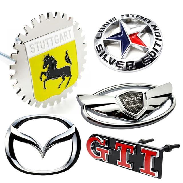 Эмблемы автомобильные
