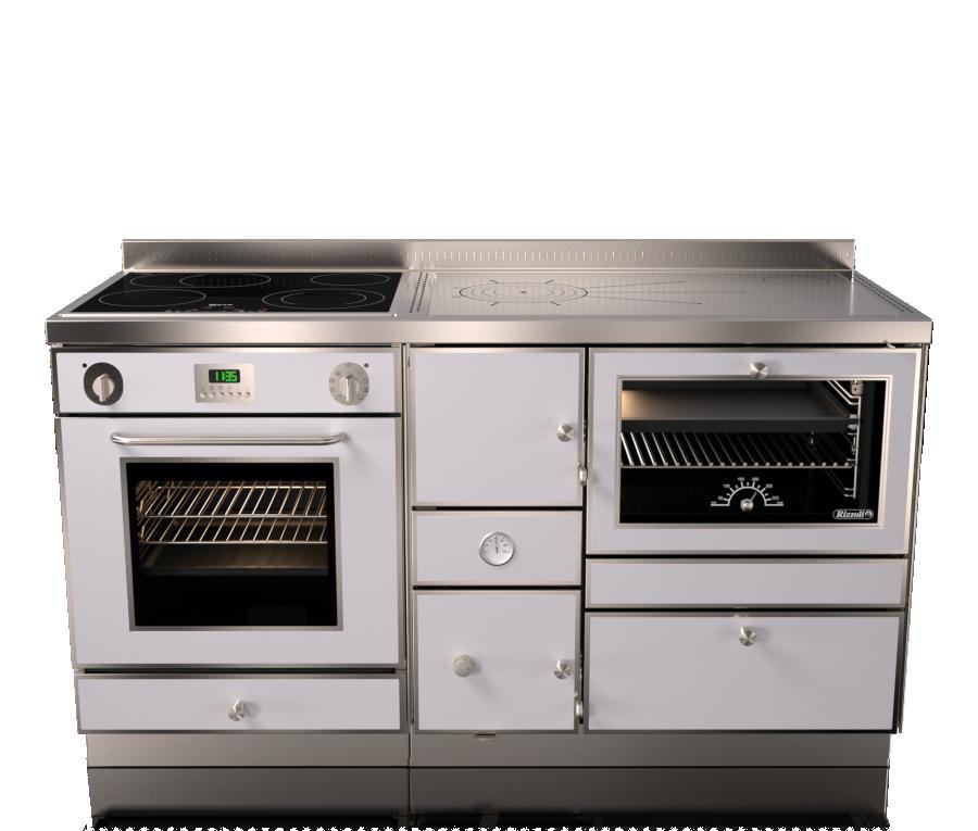Варочная печь с водяным контуром Rizzoli RTE 150 Combi (плюс газ и электричество)