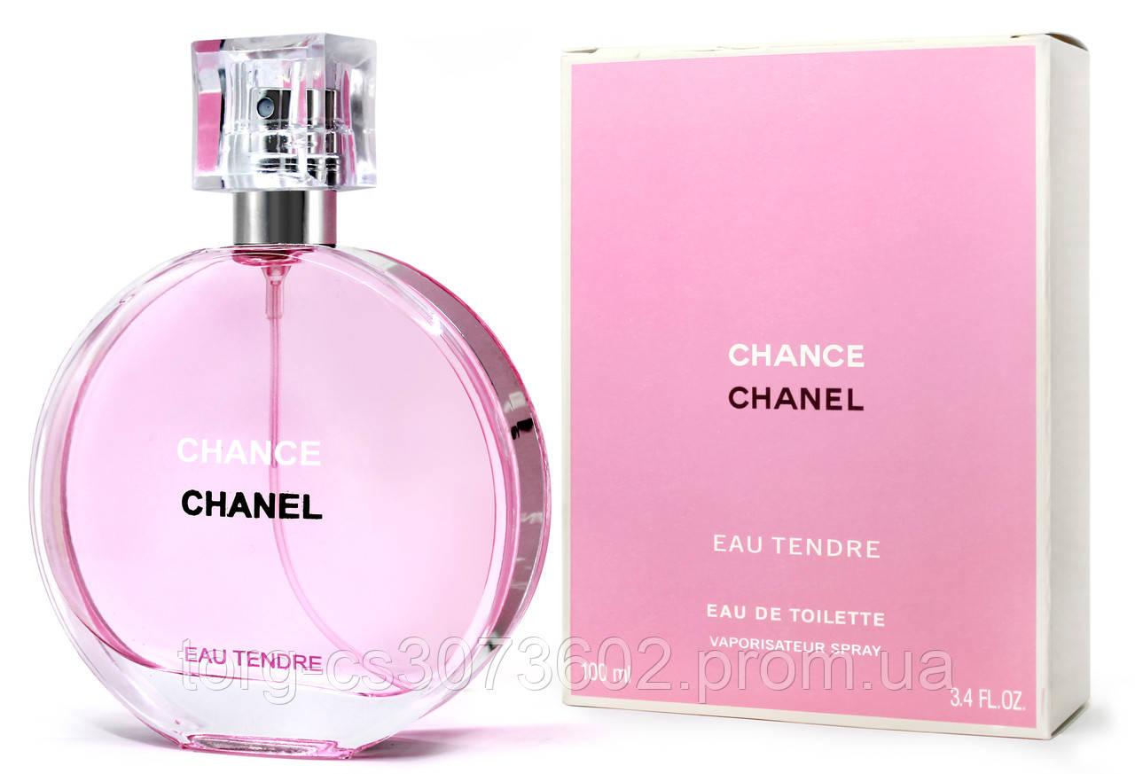 Chanel Chance Eau Tendre, женская туалетная вoда 100 мл.