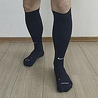 Футбольные гетры Nike Dri-Fit черного цвета футбольні гетри nike