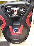Колонка акумуляторна з мікрофоном ZPX ZX-7766 200W (Bluetooth/USB/FM/TWS), фото 2