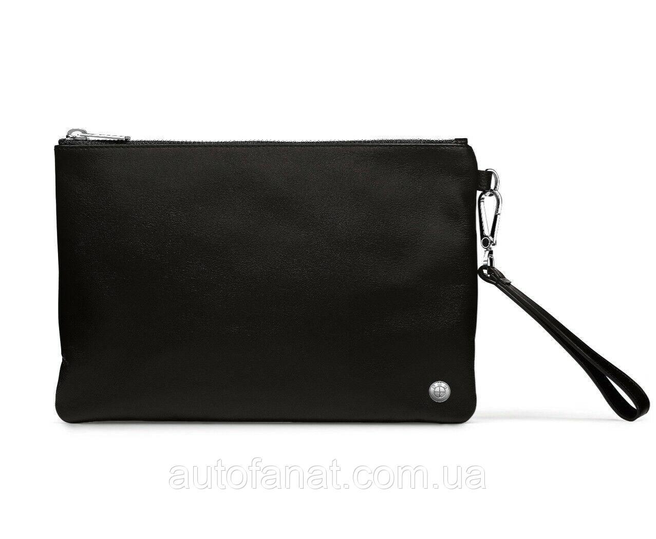 Шкіряна сумка BMW, Black оригінальний гаманець, портмоне (80222454671)