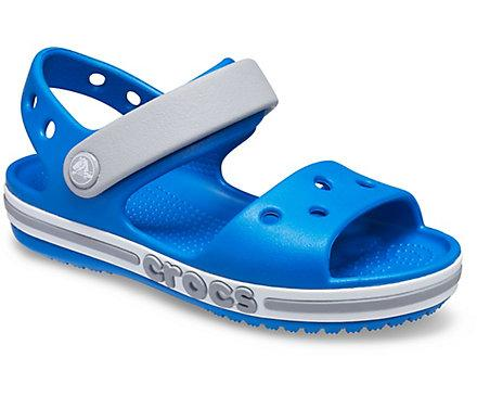 Сандалії Crocs Kids Bayaband Printed Sandal c6 Сірий хакки