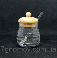 Сахарница стеклянная Медовница 200 мл арт. 16504-4