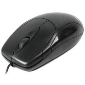 Мышь компьютерная проводная Maxxter Mc-209 Black