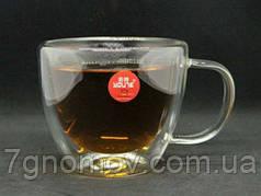 Кружка из двойного стекла Капучино 250 мл арт. 16936-20-N1