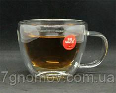 Кружка из двойного стекла Капучино 350 мл арт. 16936-20-N2