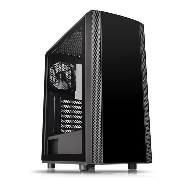 Корпус Thermaltake Versa J25 Tempered Glass Edition Black (CA-1L8-00M1WN-00)