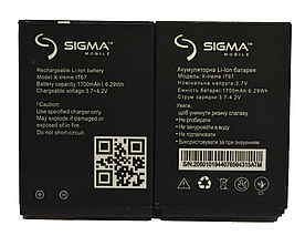 Оригинальный Аккумулятор АКБ (Батарея) для Sigma X-treme IT67 | IP67 | DZ67 (1700 mAh 3.7V)