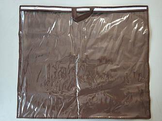 Упаковка для подушки, авточехлов 70х60 см ПВХ 90 Коричневый