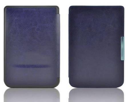 Чехол обложка PocketBook 614 Basic 3 темно синий, фото 2