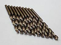 Сверло Р18 по НЕРЖАВЕЙКЕ 2,6мм (кобальт) // ГОСТ-10902 (DIN338 G-Co), фото 1