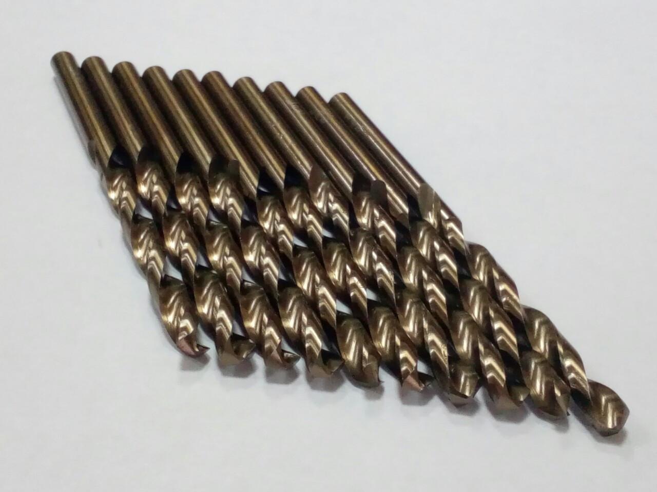 Сверло по НЕРЖАВЕЙКЕ Р18 -  4,8мм (кобальт) // ГОСТ-10902 (DIN338 G-Co)