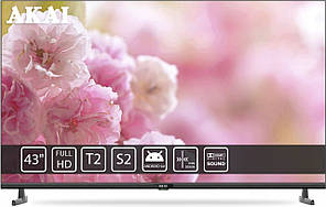 Телевізор LED AKAI UA43FHD20T2S